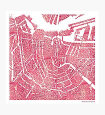 Histology Cities - Amsterdam Photographic Print