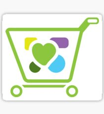 Shopping Cart Sticker