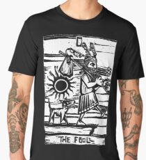 The Fool - Tarot Cards - Major Arcana Men's Premium T-Shirt