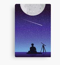 BTS Jimin Serendipity Landscape Canvas Print