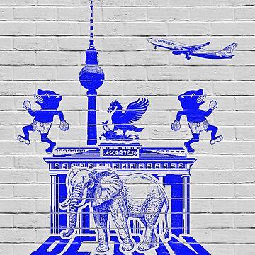 BERLIN by henribanks