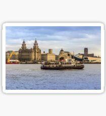 Ferry cross the Mersey Sticker