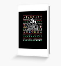 Christmas is coming - Game of Christmas Greeting Card