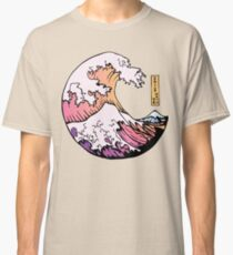 the great pastel wave Classic T-Shirt
