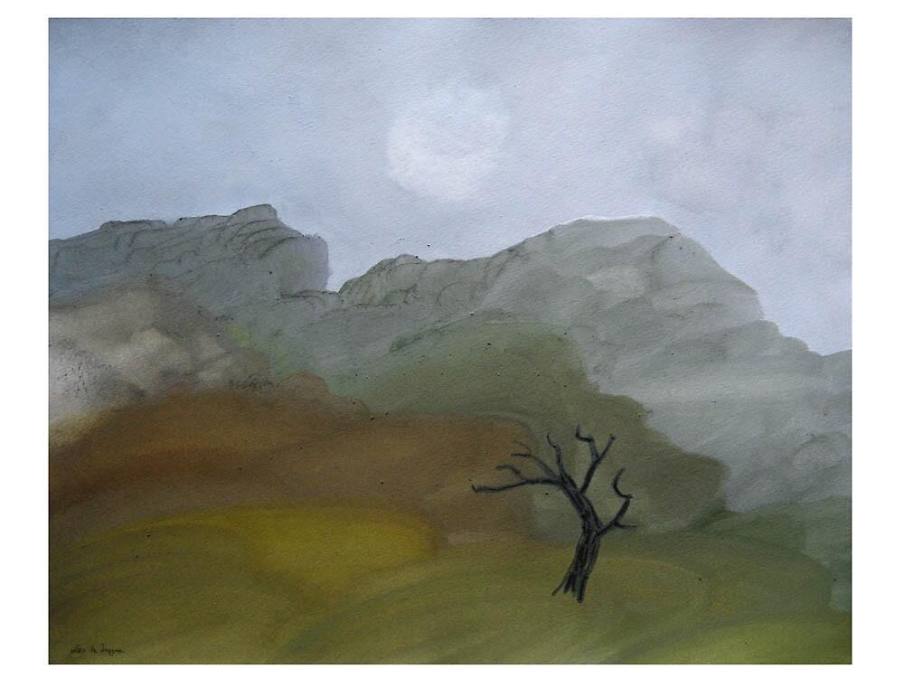 Tree August 2008 (Number Three) by Leo de Freyne