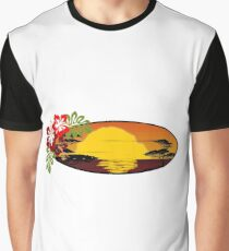 Tropical Bliss Graphic T-Shirt