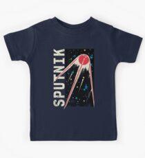 Sputnik Sterne Kinder T-Shirt