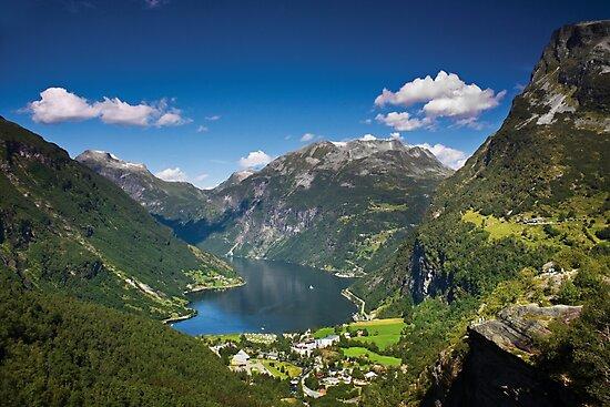 Geiranger Fjord by Dominika Aniola