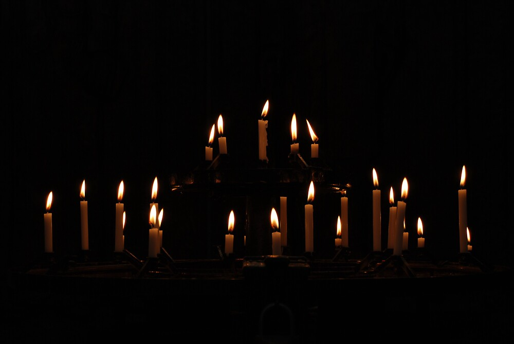 Cathedral Candles by Angus Russell