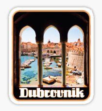 Dubrovnik croatia Sticker