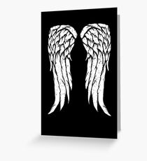 Daryl Dixon Wings - Zombie Greeting Card