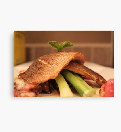 Dinner at Chefleclef's Canvas Print