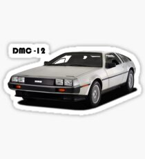 The DMC-12 Sticker