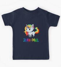 Jean-Paul Unicorn Sticker Kids Clothes