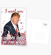 Trumpf Valentinstag Postkarten