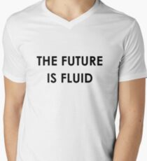 The Future Is Fluid Men's V-Neck T-Shirt