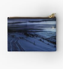 beautiful countryside in mountains Studio Pouch
