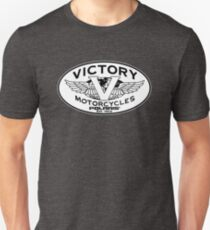 Victory Motorcycles Polaris Est. 1954 White Black T-Shirt