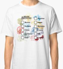 Drink Around the World - EPCOT Passport Classic T-Shirt