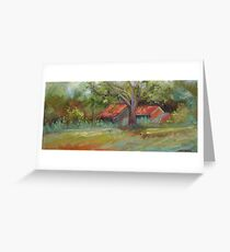 Outbuildings Greeting Card