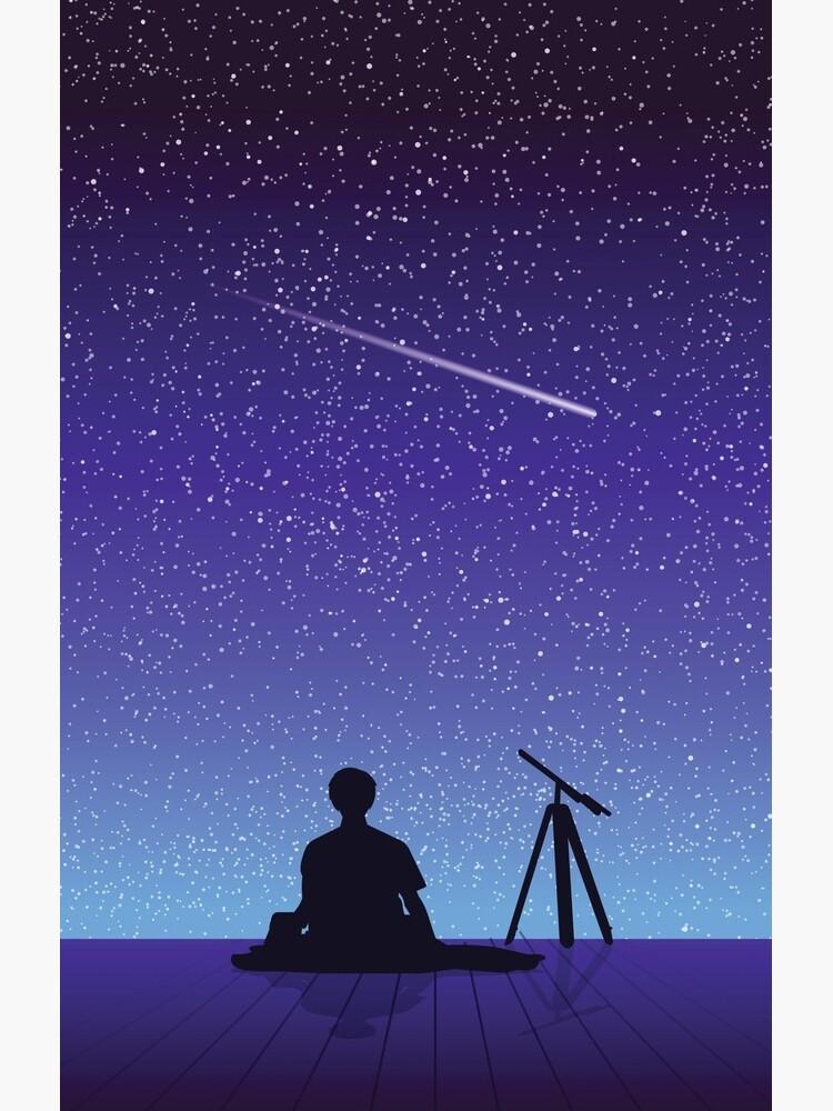 BTS Jimin Serendipity Landscape by kizographer