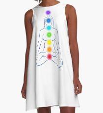 Chakras A-Line Dress