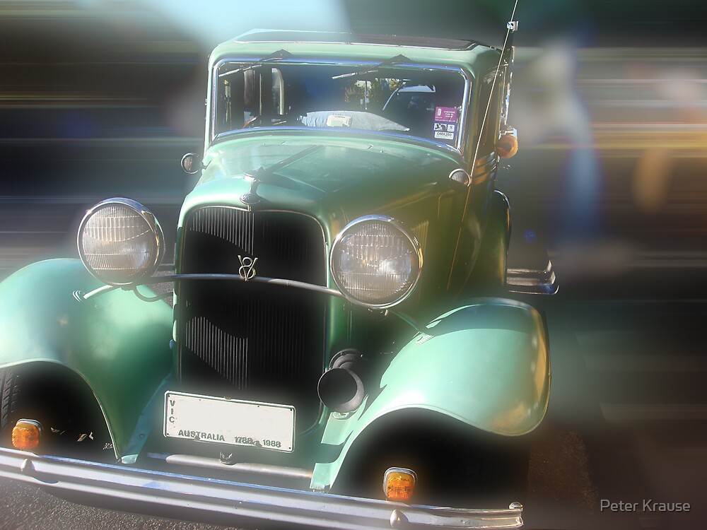 Car - a study in motion by Peter Krause