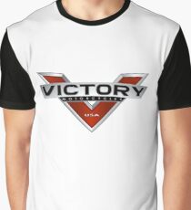 Victory V Motorcycles USA Graphic T-Shirt