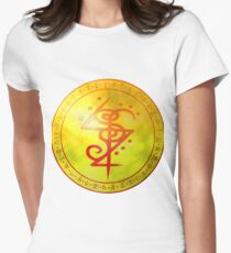 Sigil for willpower, and motivation Women's Fitted T-Shirt