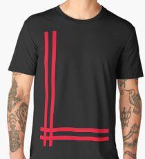 Telekon style Numan stripes Men's Premium T-Shirt