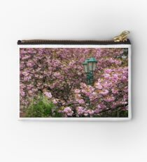 green lantern among cherry blossom Studio Pouch