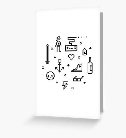 Let's pixelate Greeting Card
