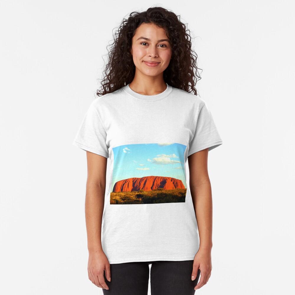 Uluru Sunset Classic T-Shirt