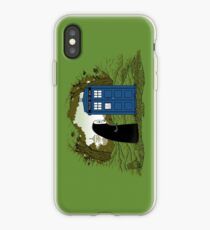 Curious Faceless Spirit iPhone Case