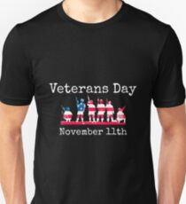 Veterans Day - November 11th Unisex T-Shirt