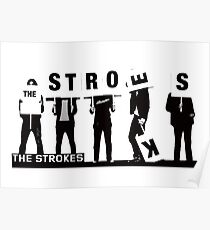 the strokes - Design must reflect the practical and aesthetic in business but above all. Poster