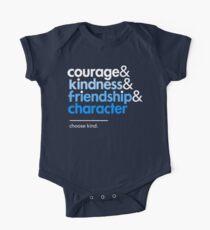 Sei ein Wunder, wähle eine Art Baby Body Kurzarm