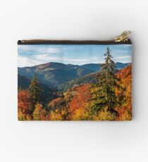 beautiful autumn scenery in mountains Studio Pouch