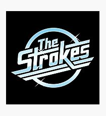 the strokes - Design can have such a positive impact on the way people live and on their relationships and moods. Photographic Print