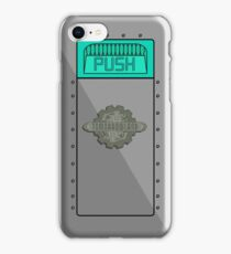 Tomorrowland Trash Can ( PUSH ) iPhone Case/Skin