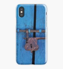 Old Lock on a Church Door iPhone Case