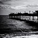 Teignmouth Pier Film Noir by Country  Pursuits