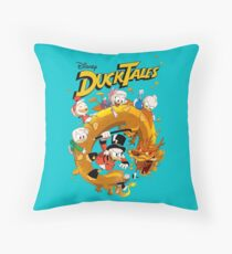 Ducktales Throw Pillow