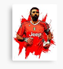 gigi buffon - the legendary goalkeeper Canvas Print