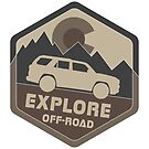 Colorado Explore Off-Road Variant 2 by Andrewdotcom