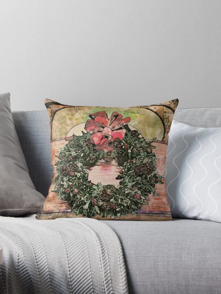 Joyful Wreath by OneDayArt
