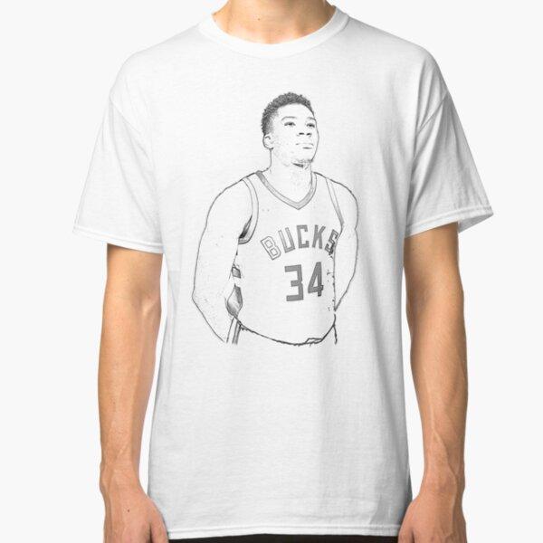 Basketball Fans Giannis Milwaukee MVP Little Kids Unisex Toddler T-Shirt