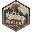 Colorado Explore Off-Road Variant 4 by Andrewdotcom