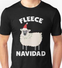 Weihnachtsvlies Navidad Slim Fit T-Shirt