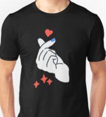 Korean Finger Heart Unisex T-Shirt